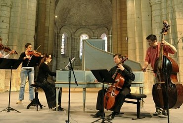 Music Festival at Abbaye aux Dames in Saintes